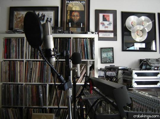 dj revolution home studio